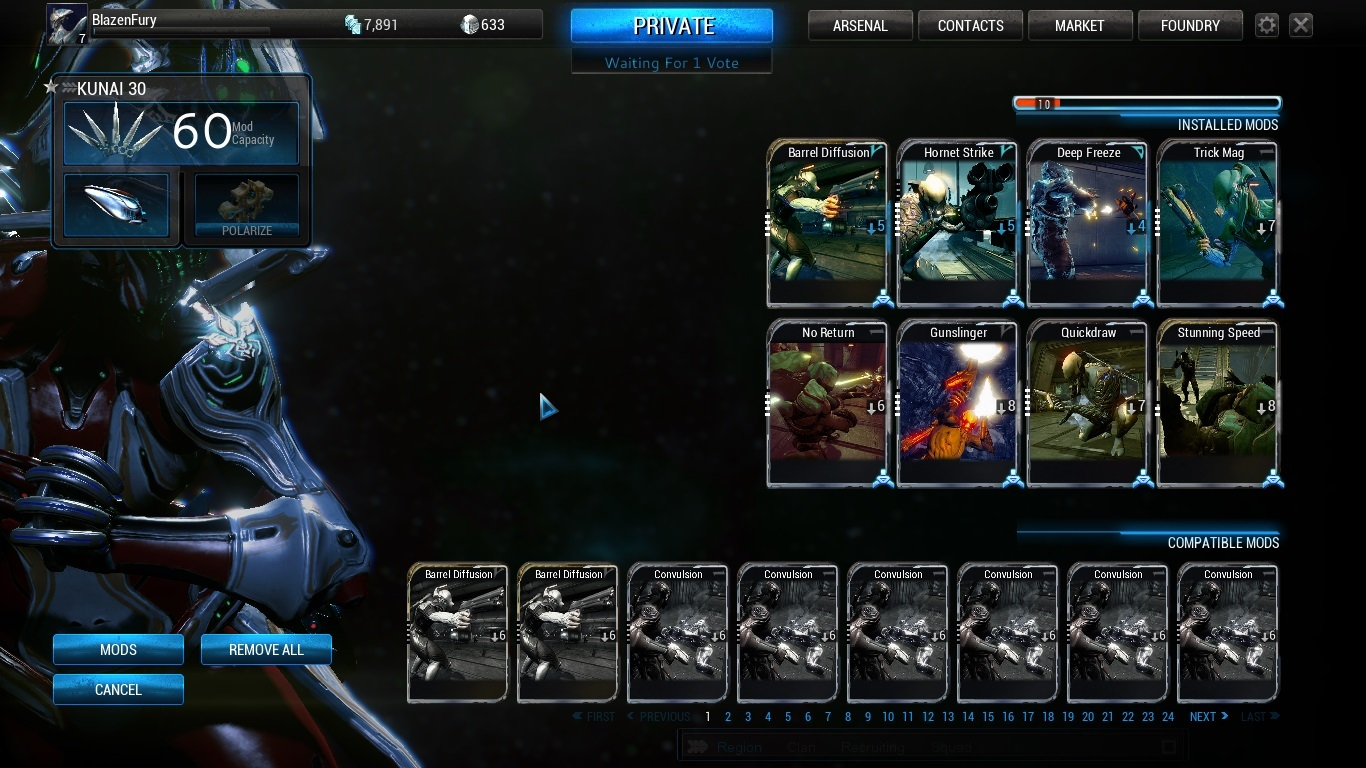 warframe more weapon slots